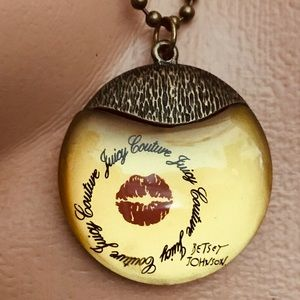 Jewelry - juicy couture Betsey Johnson Collab necklace N22